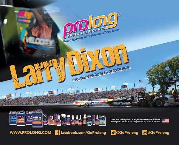 Prolong Larry Dixon Racing