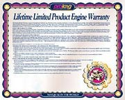 Prolong's Lifetime Limited Warranty