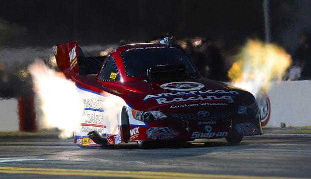 MEET NHRA FUNNY CAR CHAMPION TONY PEDREGON AT PROLONG SUPER