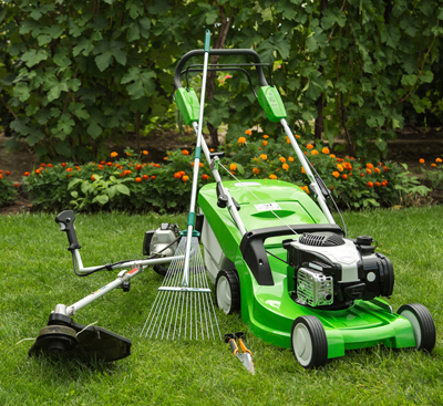 Weed Trimmer & Lawn Mower