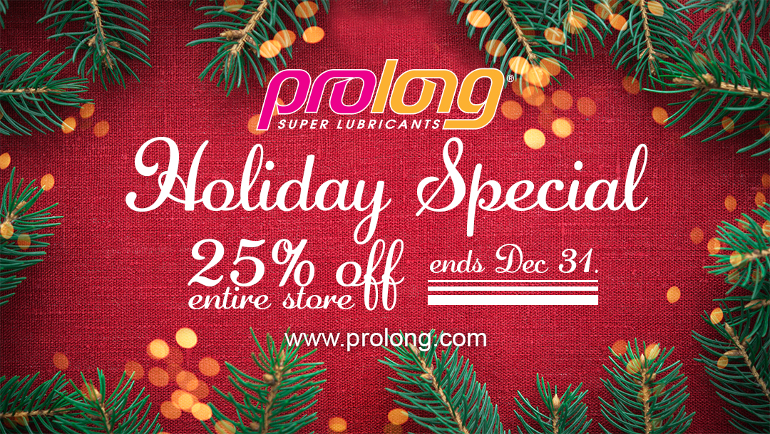 Prolong Holiday Sale