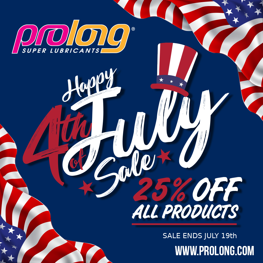 Celebrate 4th of July with Prolong