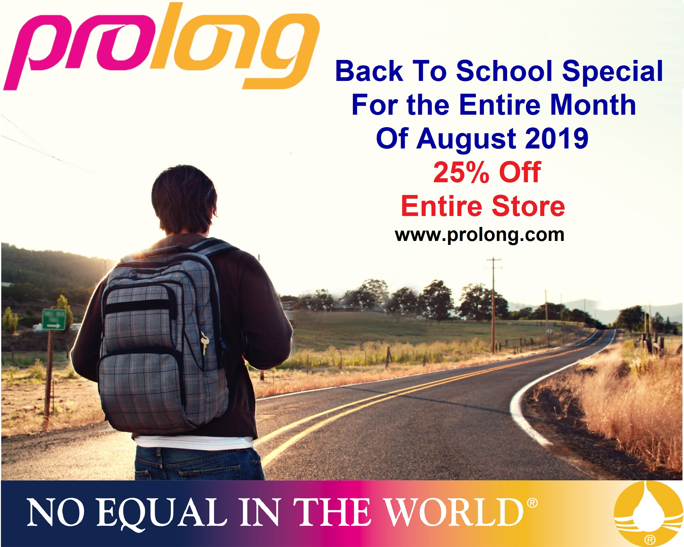 Celebrate Back to School with Prolong