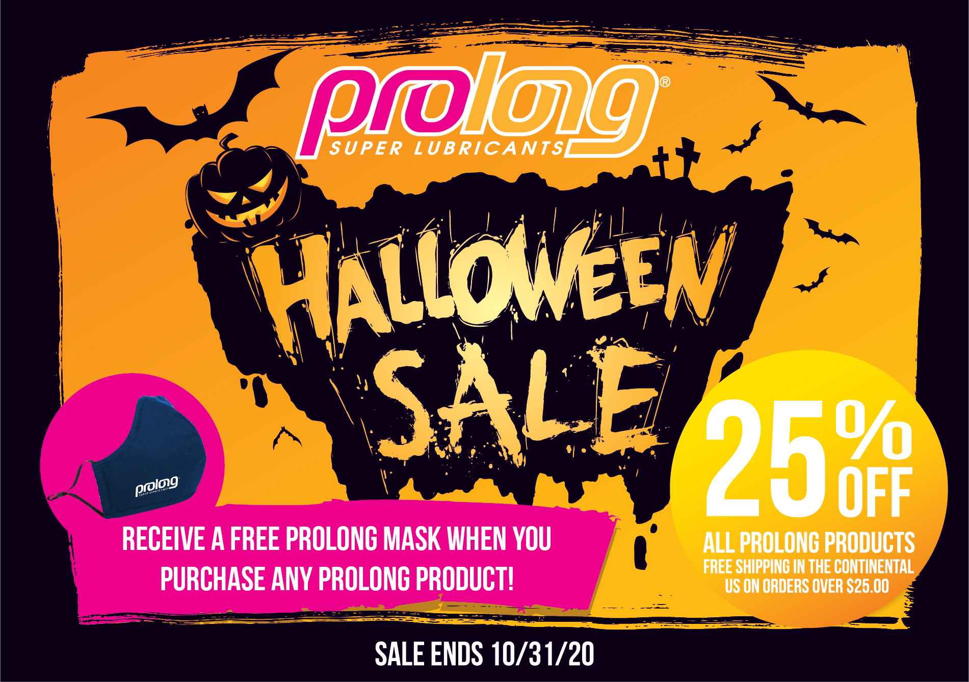 Celebrate Halloween with Prolong