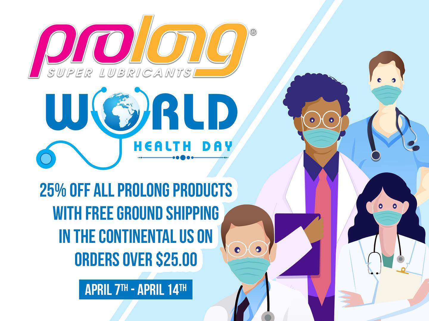 Celebrate World Heath Workers Day with Prolong